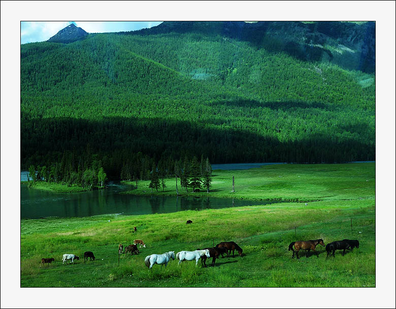 "photo ""XINJIANG-impression-4"" tags: travel, landscape, Asia, mountains"