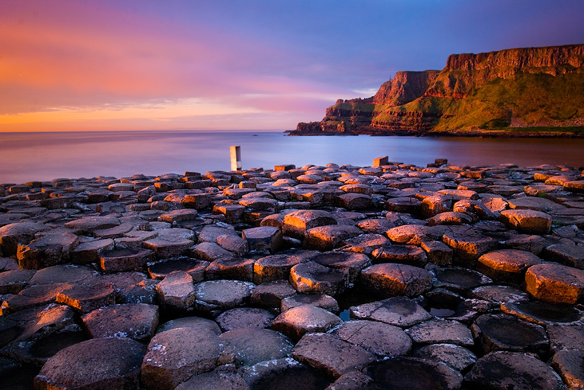"photo ""Giant's Causeway"" tags: landscape,"