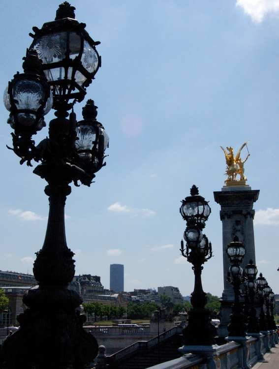 "photo ""Alexander III Bridge"" tags: architecture, travel, landscape, Europe"