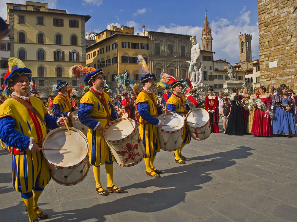 "photo ""Florentines and Florentine ladies"" tags: genre, travel, Europe"