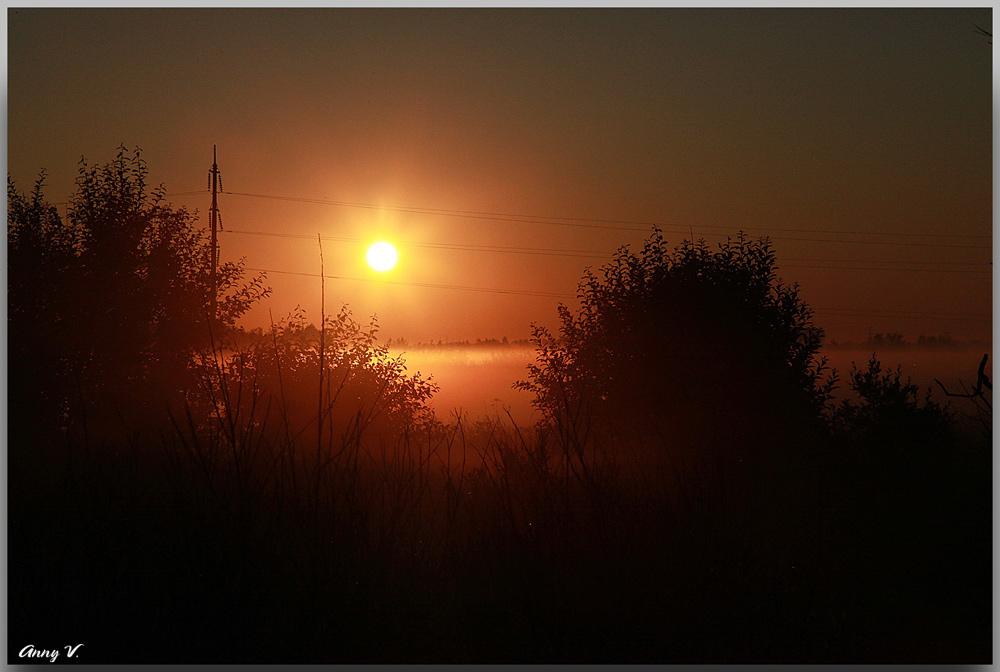 "photo ""восход, солнце"" tags: landscape, sunset"