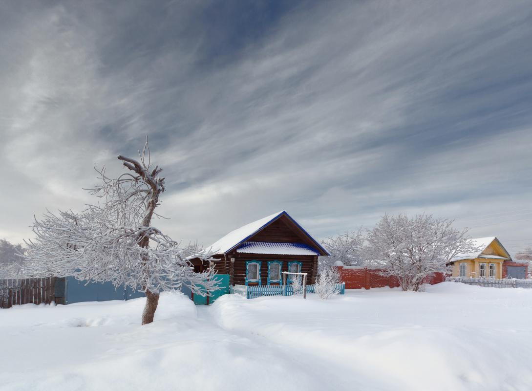 """фото """"Морозные линии"""" метки: пейзаж, зима"""