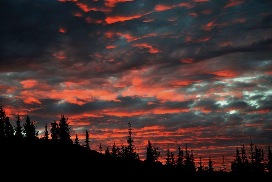 """фото """"Закат на Серебрянке"""" метки: пейзаж, закат"""
