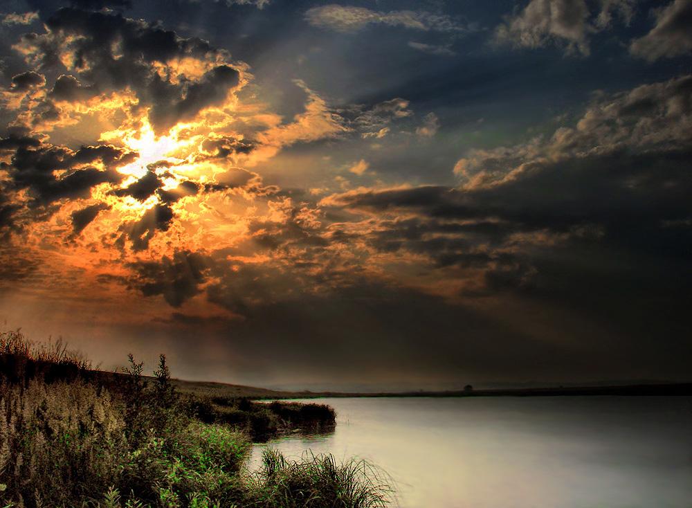 """фото """"Таинство..."""" метки: пейзаж, закат"""