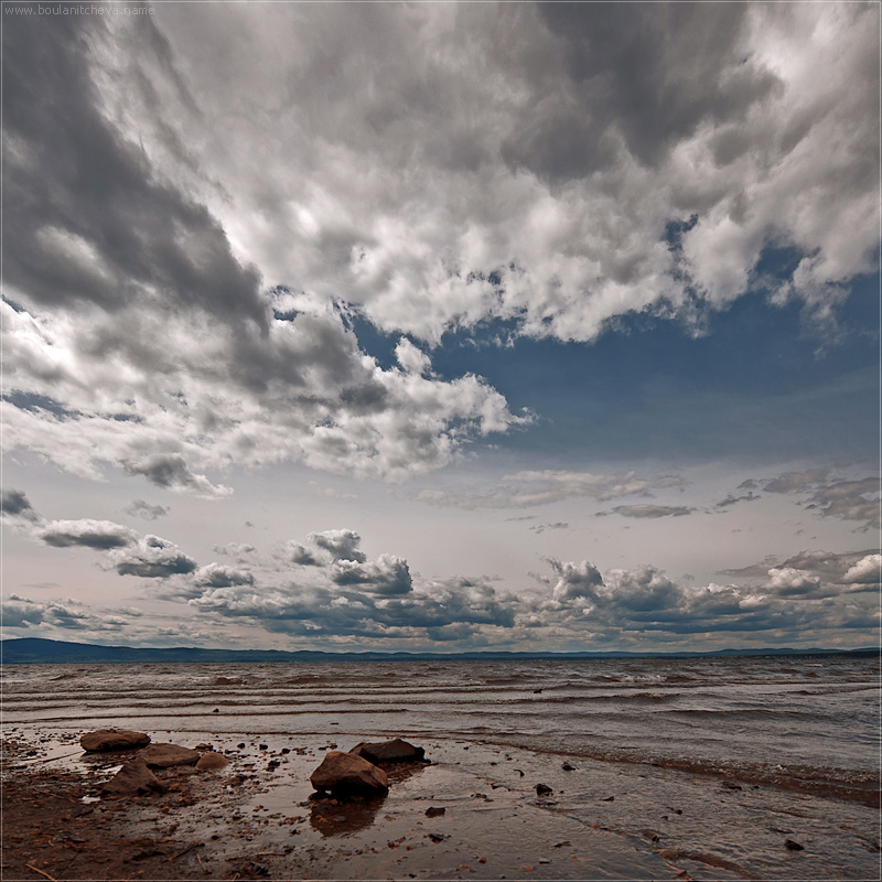 "photo ""Itkul2"" tags: landscape, clouds, water"