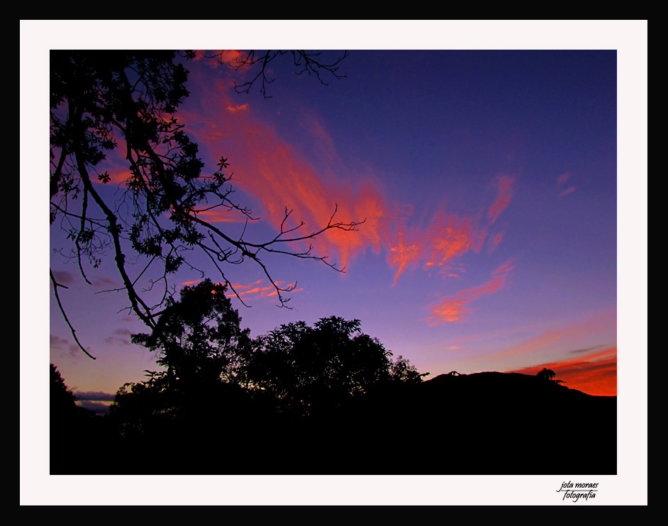 "photo ""Sky in the fire"" tags: landscape, sunset"