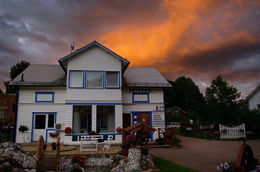 "photo ""***"" tags: landscape, architecture, sunset"