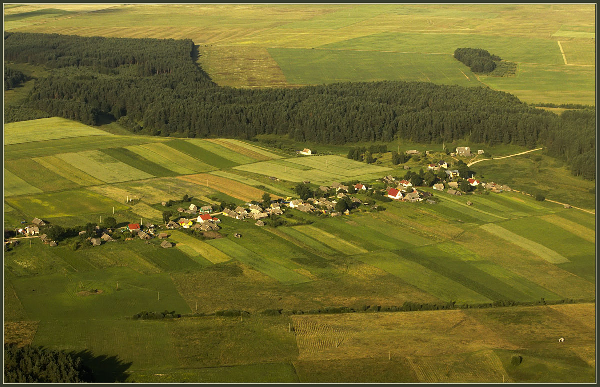 "photo ""Village"" tags: landscape, summer"