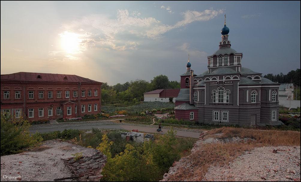 "photo ""Semiozerka Abbey. Kazan"" tags: architecture, landscape,"
