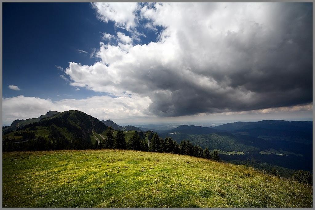 """photo """"Simple Alps landscape"""" tags: landscape, mountains"""