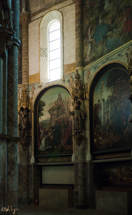 "photo ""In the church of the castle Templars"" tags: architecture, travel, landscape, Europe"