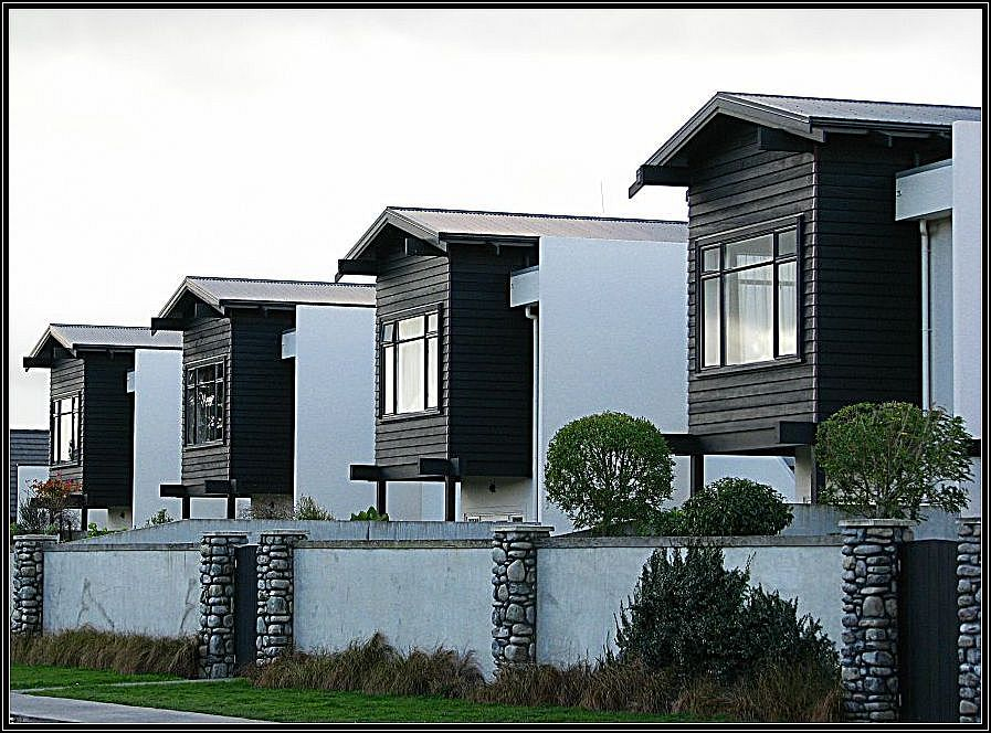 """photo """"Apartments."""" tags: architecture, city, landscape,"""