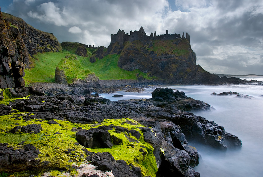 "photo ""Dunluce Castle"" tags: landscape,"