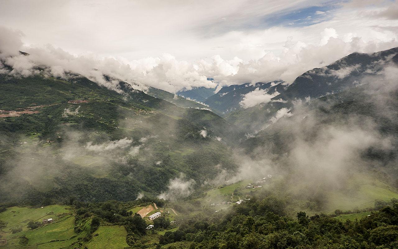 """фото """"Небо и земля"""" метки: пейзаж, путешествия, Азия, горы"""