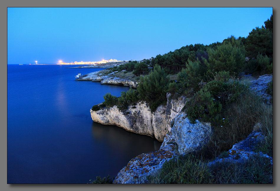 """фото """"Вечер на побережье Италии-1"""" метки: пейзаж, вода, горы"""