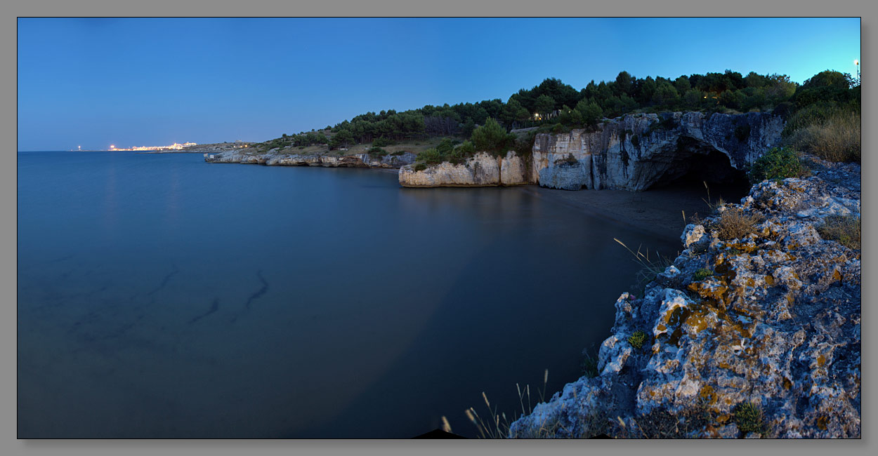 """фото """"Вечер на побережье Италии-2"""" метки: пейзаж, вода, горы"""