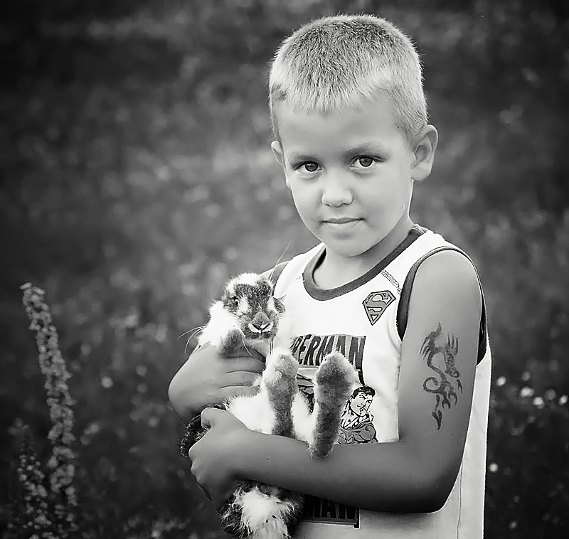 """photo """"Andrei"""" tags: portrait, children"""