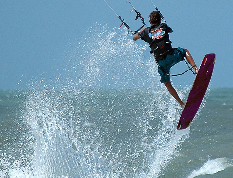 "photo ""Kite Surf"" tags: landscape, sport, water"