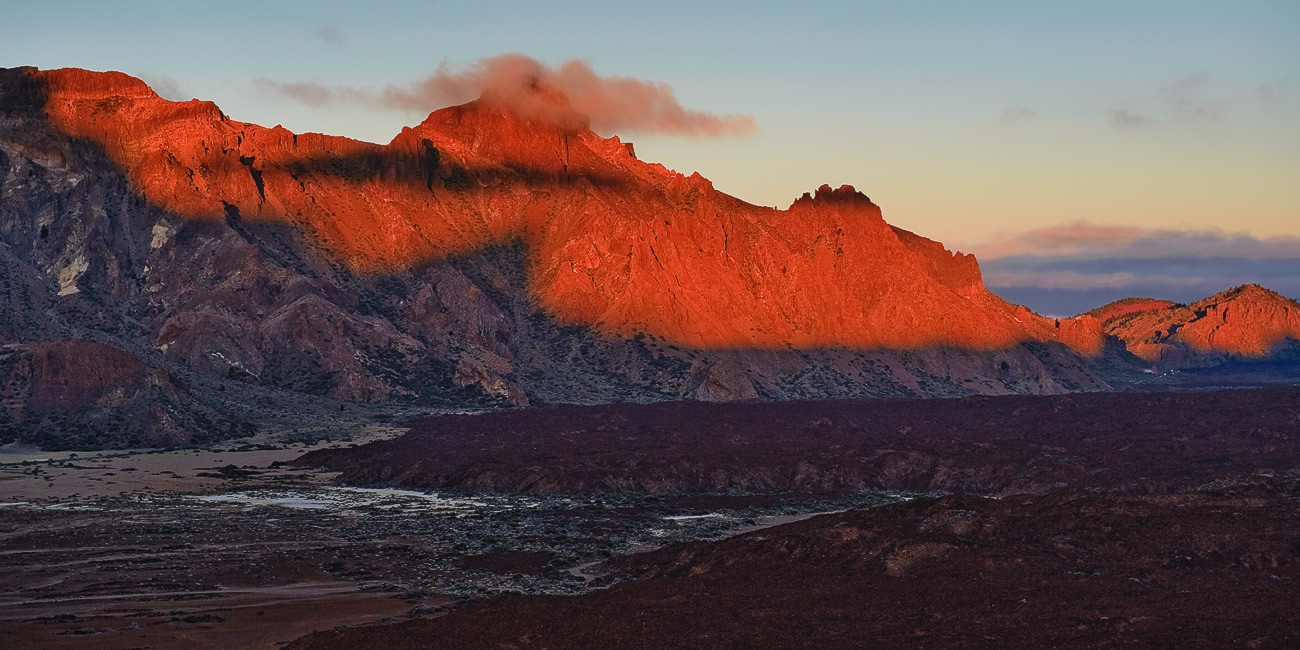 "photo ""Rocks in the fire"" tags: landscape, panoramic, sunset"
