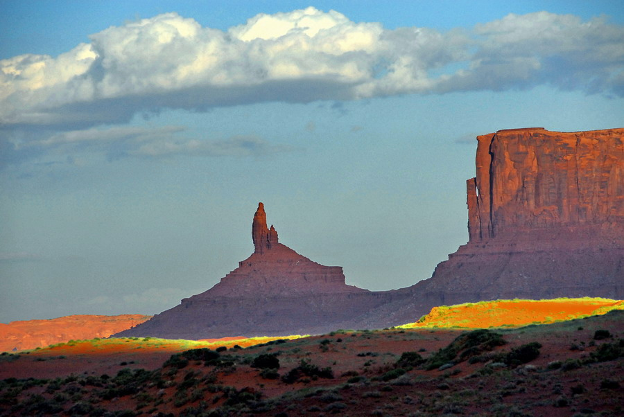 "photo ""MONUMET VALLEY"" tags: landscape,"