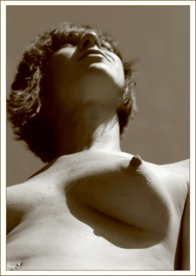 """photo """"Лето в яблоневом саду****"""" tags: nude,"""