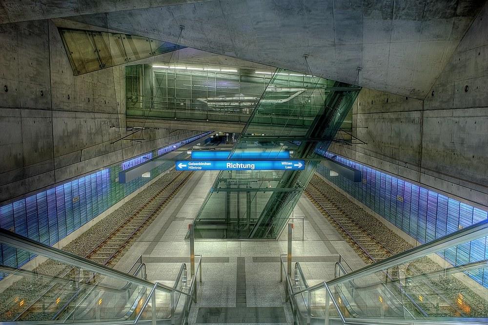 """photo """"Next Stop: Bochum, Town Hall"""" tags: architecture, city, landscape,"""