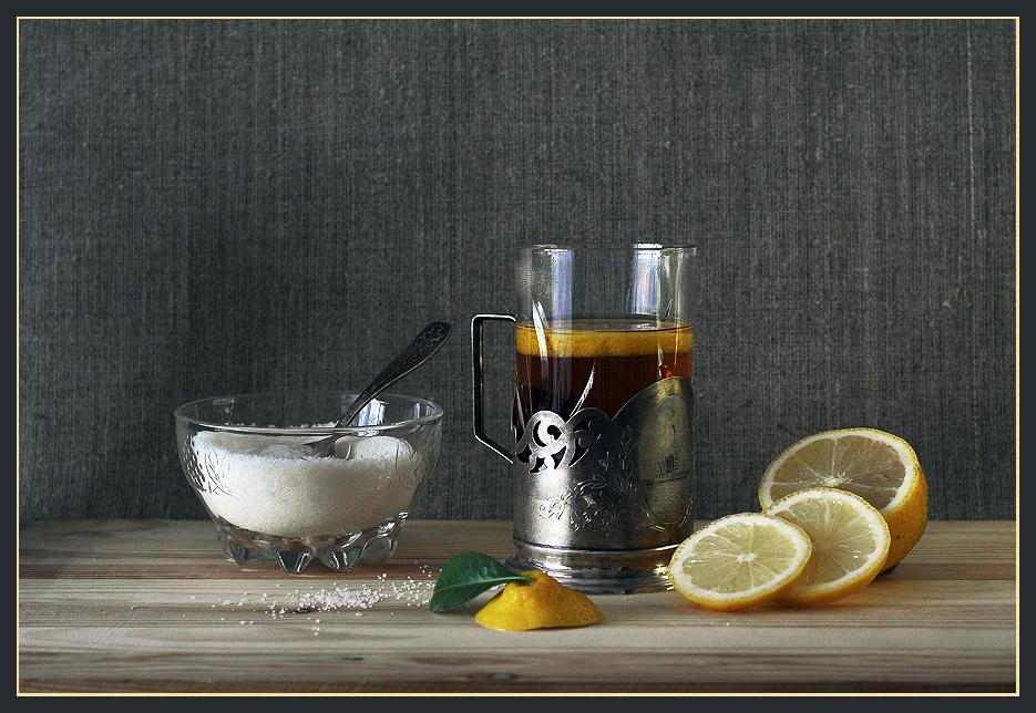 """фото """"Чай с лимоном"""" метки: ,"""