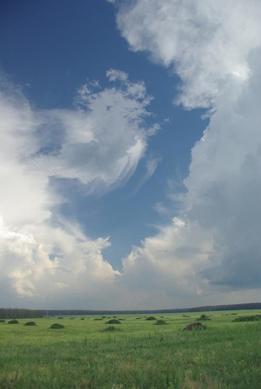 "photo ""Clouds"" tags: landscape, clouds, summer"