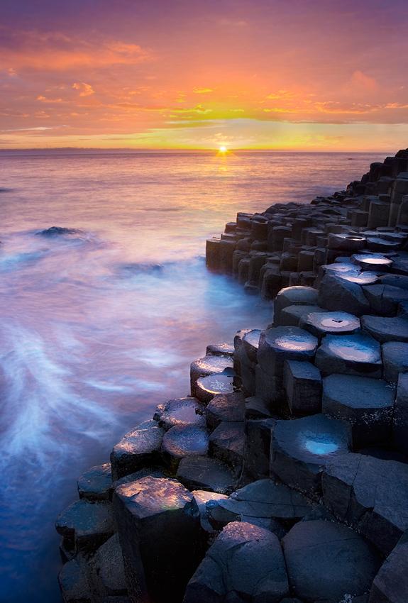 """photo """"Giant's Causeway"""" tags: landscape,"""