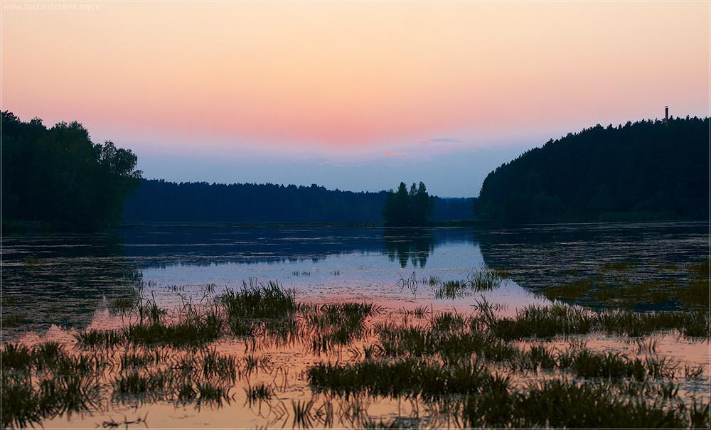 "photo ""Sunset"" tags: landscape, summer, sunset"