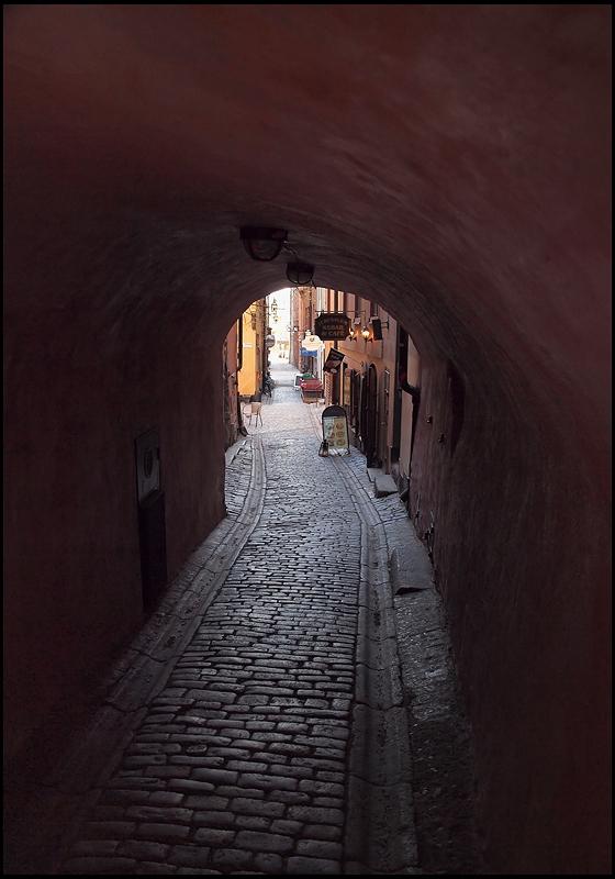 """фото """"Стокгольм. В узких улочках (3)"""" метки: город, путешествия, Европа"""