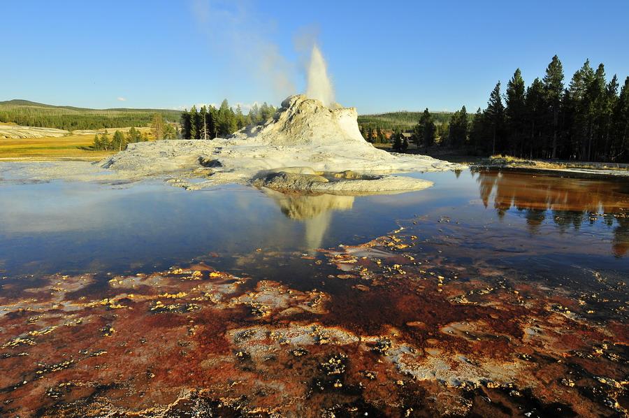 """фото """"Yellowstone"""" метки: пейзаж,"""