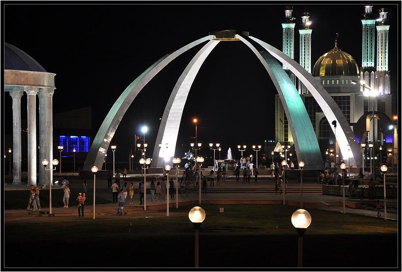 """фото """"в полночь"""" метки: пейзаж, город, ночь"""