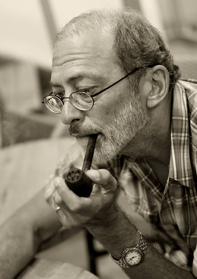 "фото ""Heavy smoker pipe"" метки: портрет, мужчина"