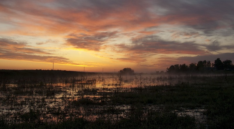 "photo ""Morning"" tags: landscape, sunset"