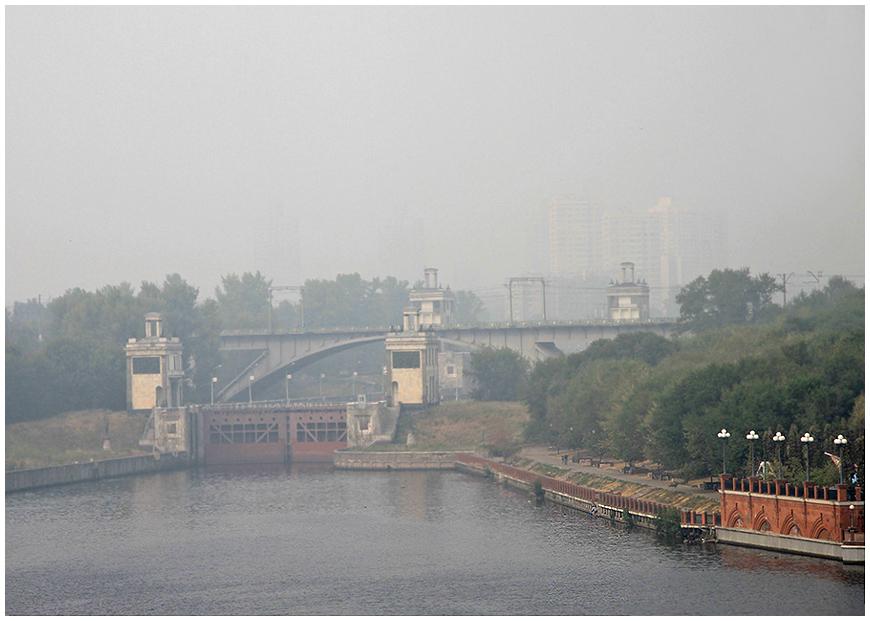 """фото """"Москва в угаре..."""" метки: пейзаж, город,"""