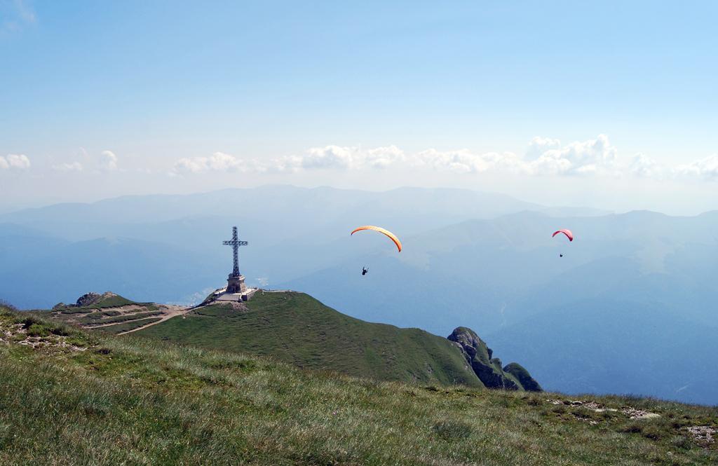 """фото """"***"""" метки: пейзаж, спорт, paragliding, горы"""