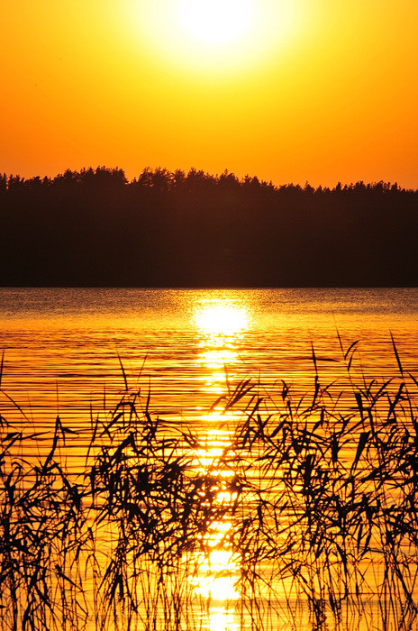 "photo ""Beutiful sunset"" tags: landscape, sunset"