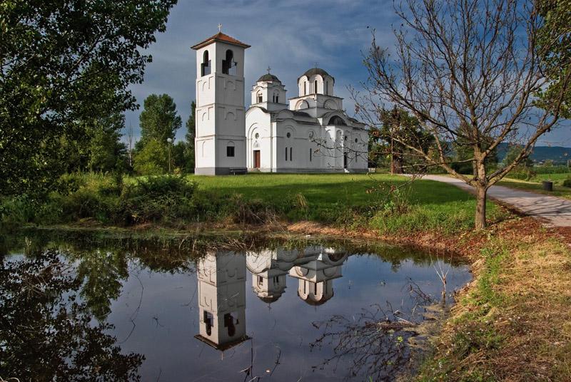 "фото ""Church reflections"" метки: архитектура, пейзаж,"