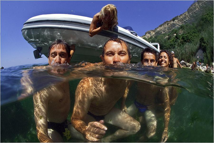 """фото """"День Рождения!!!"""" метки: подводные, юмор,"""
