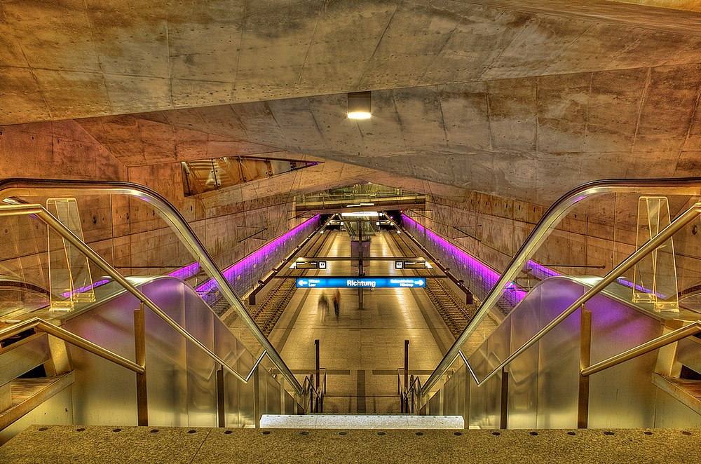 "фото ""Next Stop: Bochum, Town Hall - 2. Version"" метки: архитектура, город, пейзаж,"