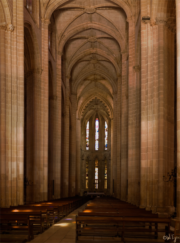 """photo """"The Monastery of Batalha"""" tags: architecture, panoramic, landscape,"""