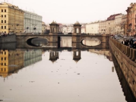 "фото ""St.Petersburg. April."" метки: архитектура, пейзаж,"