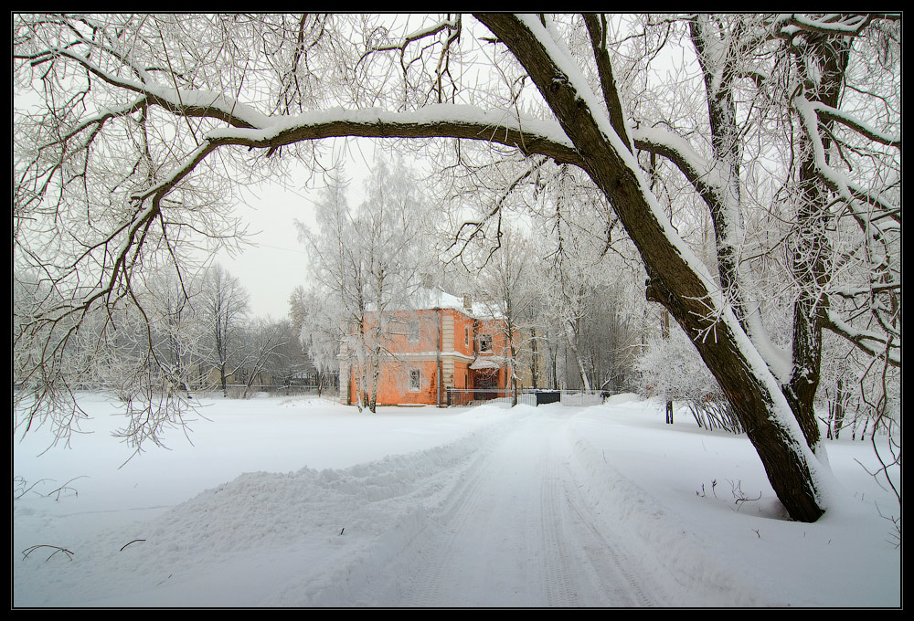"фото ""Глоток морозного воздуха"" метки: архитектура, пейзаж, зима"