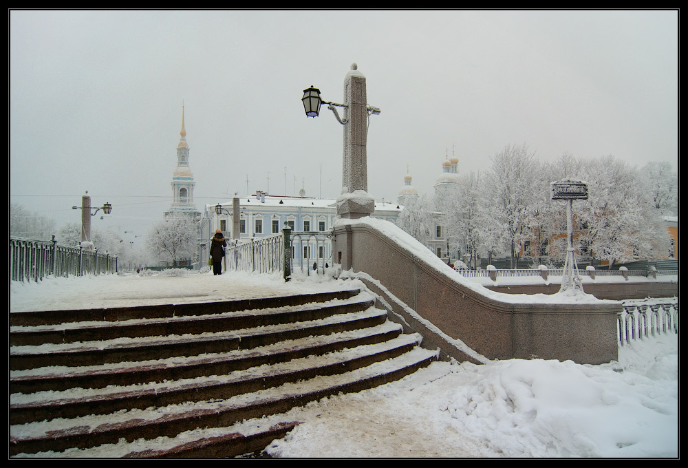 """фото """"Иней у Никольского"""" метки: архитектура, пейзаж, зима"""