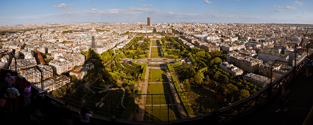 "photo ""Sans cinq minutes Montparnasse"" tags: architecture, panoramic, landscape,"