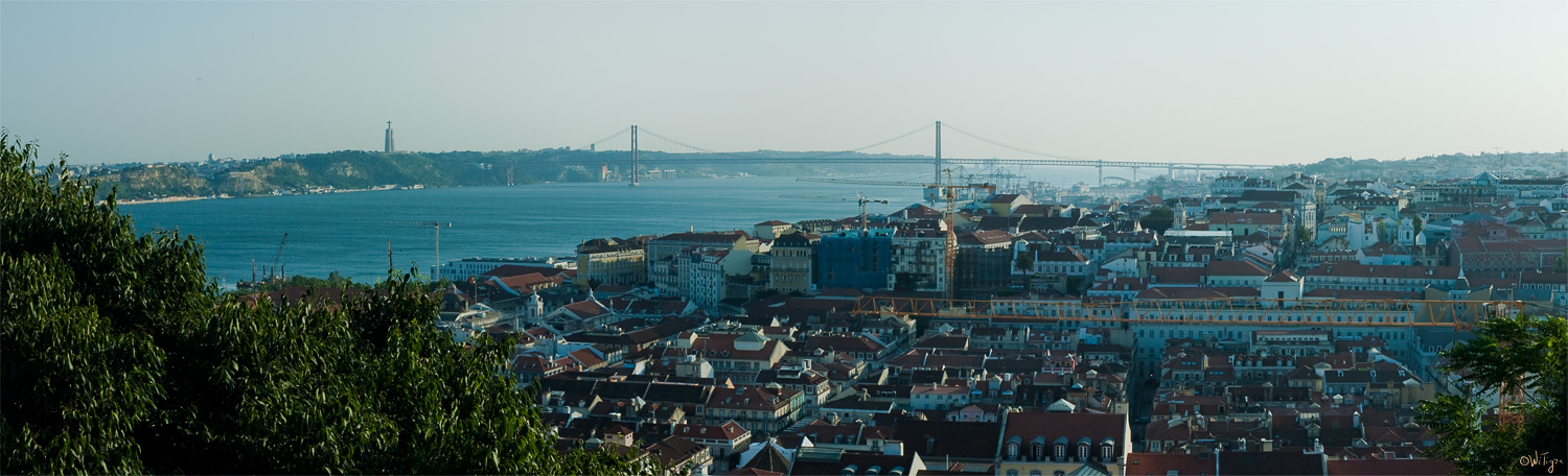 "photo ""Evening Lisbon"" tags: travel, panoramic, Europe"