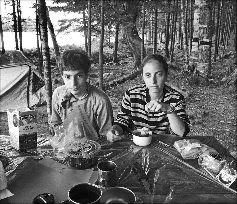 """фото """"Чаепитие на озере"""" метки: портрет,"""
