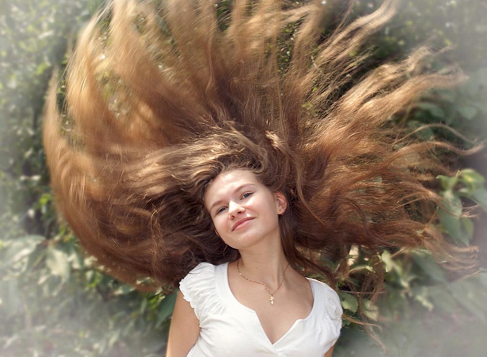 """фото """"Ветреная челка"""" метки: портрет, женщина"""