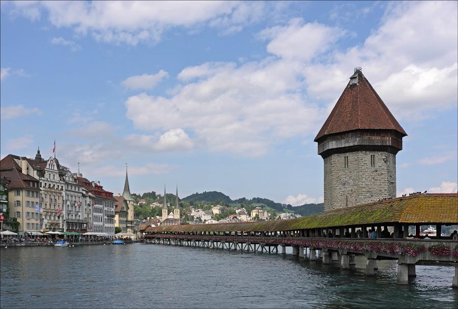 "фото ""Старый мост"" метки: архитектура, пейзаж,"
